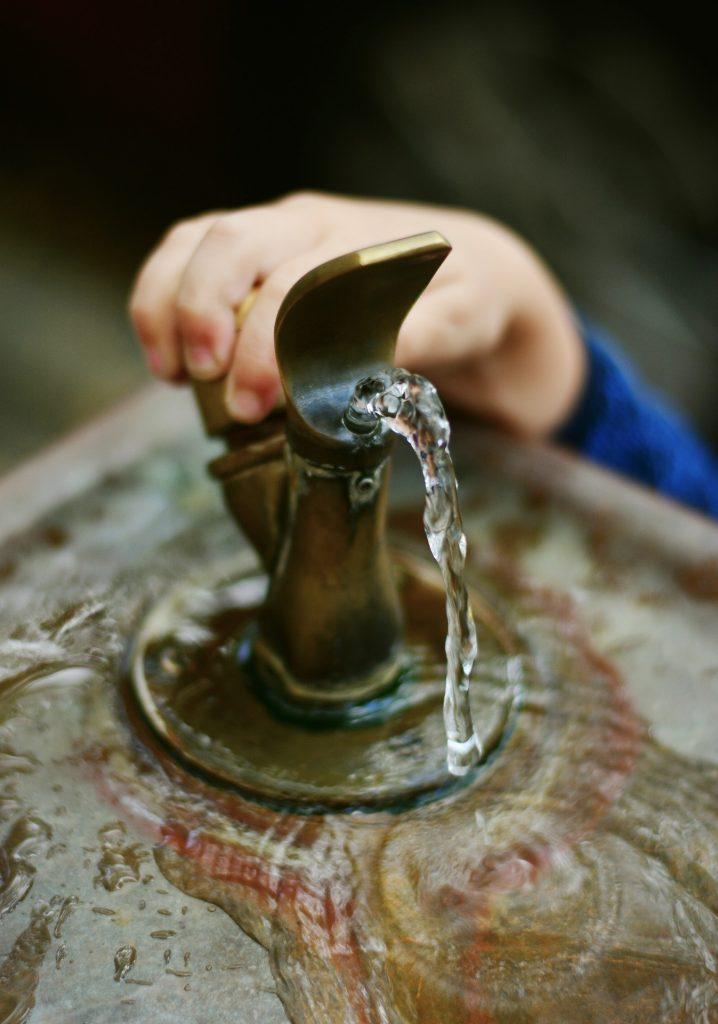Bebedouro Fonte Água