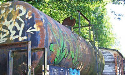 Comboio grafiti