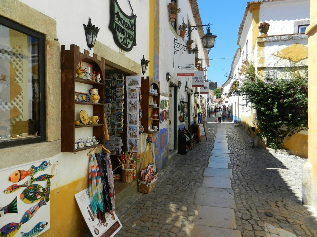 Rua Direita Óbidos