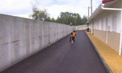 Muro Bairro Social da Integração Leiria