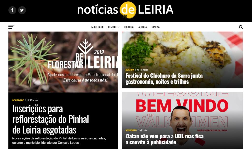 Noticias de Leiria Site Publicidade