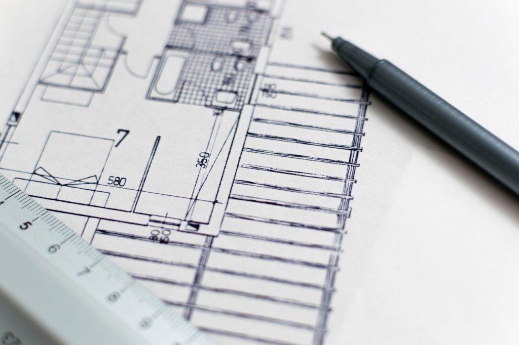 Obras Construção Desenho