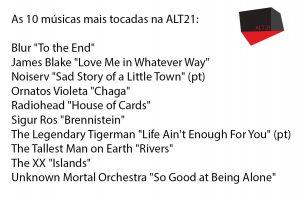 Top 10 Rádio Alternativa 21