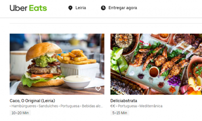 Uber Eats Leiria