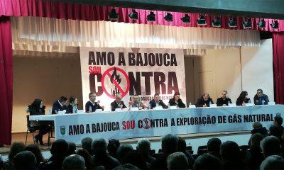 Sessão Contra Gás Bajouca