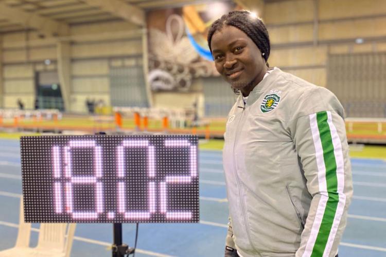 Atleta Sporting Auriol Dongmo