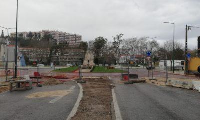 Avenida Marquês Pombal Obras