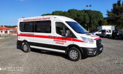 Ambulância Bombeiros Patais