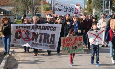 Manifestação Gás Bajouca 2