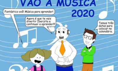 Iberzitos vão à Música