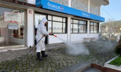 Desinfetação Porto de Mós