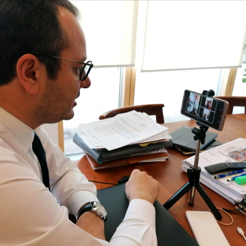 Gonçalo Lopes videoconferência