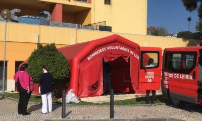 Tenda Hospital Leiria Covid