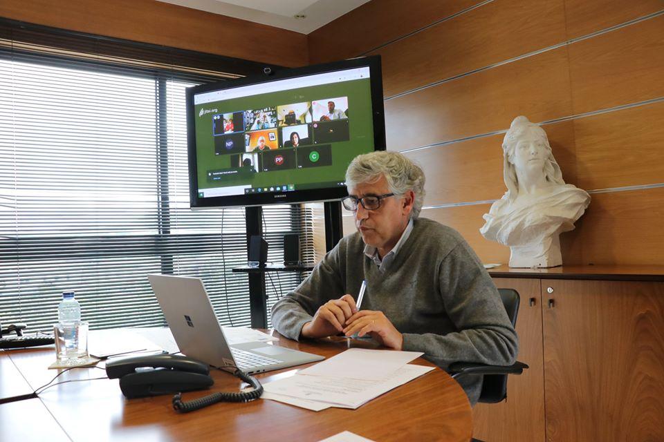 Luís Albuquerque Videoconferência