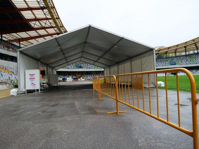 Testes Covid-19 Estádio Leiria
