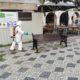 Desinfeção Praça Rodrigues Lobo