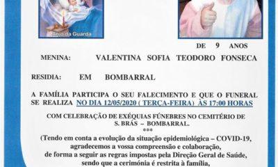 Funeral Valentina Fonseca