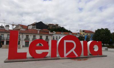 Leiria Regressa Lettering