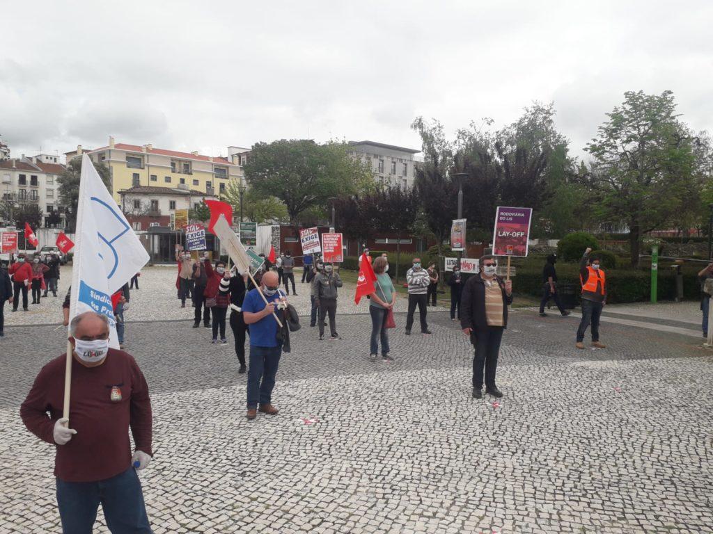 Manifestação 1º de Maio, Leiria