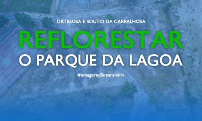 Reflorestar Parque da Lagoa JP Leiria