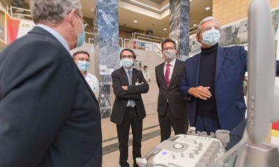 Ecógrafo Hospital Leiria Siemens