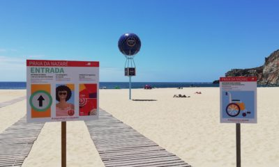 Praia Nazaré Covid-19
