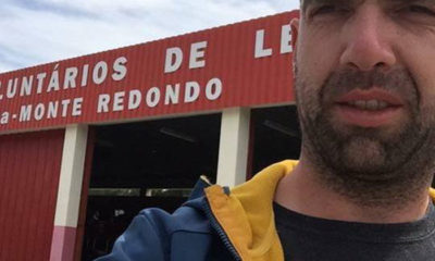 Bombeiro André Pedrosa