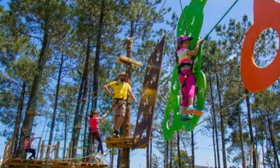 Parque Aventura Pousos Arborismo