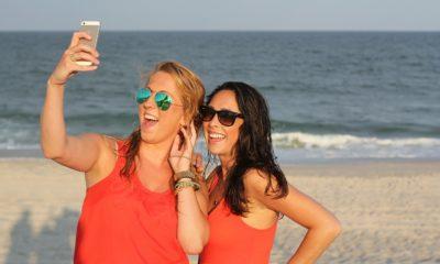 Selfie Foto Praia