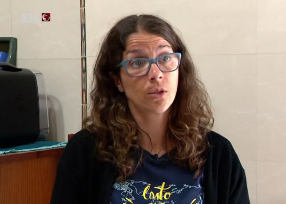 Sónia Fonseca, mãe de Valentina