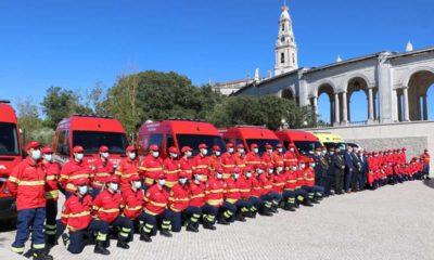 Benção ambulâncias no Santuário de Fátima