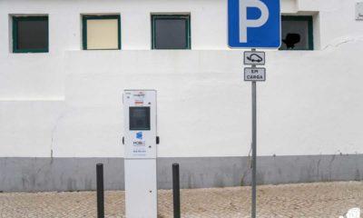 Carregamento Carro elétrico Nazaré