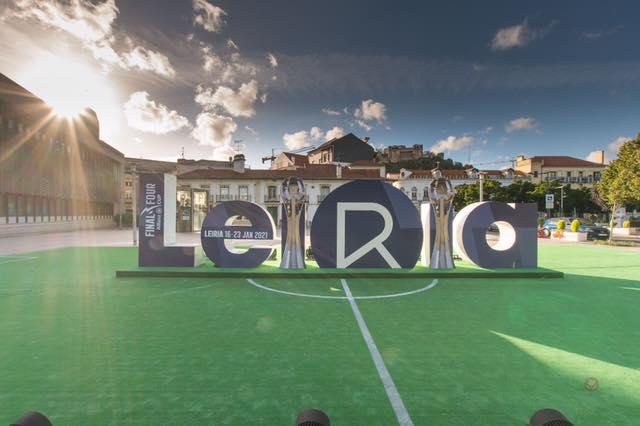 Leiria Final Four Lettering