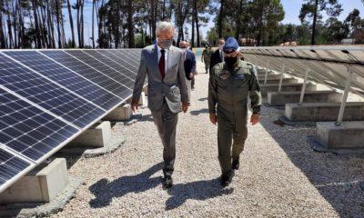 Parque Solar Base Aérea Monte Real