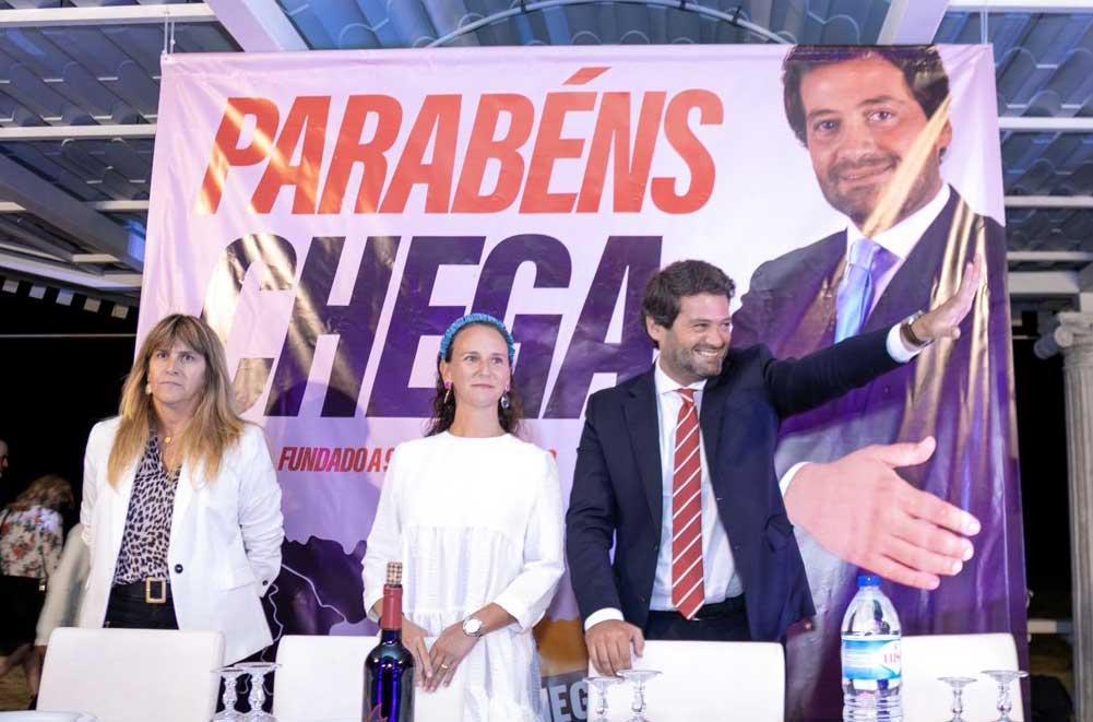 André Ventura em Leiria