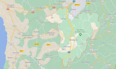 Concelho Bombarral Mapa