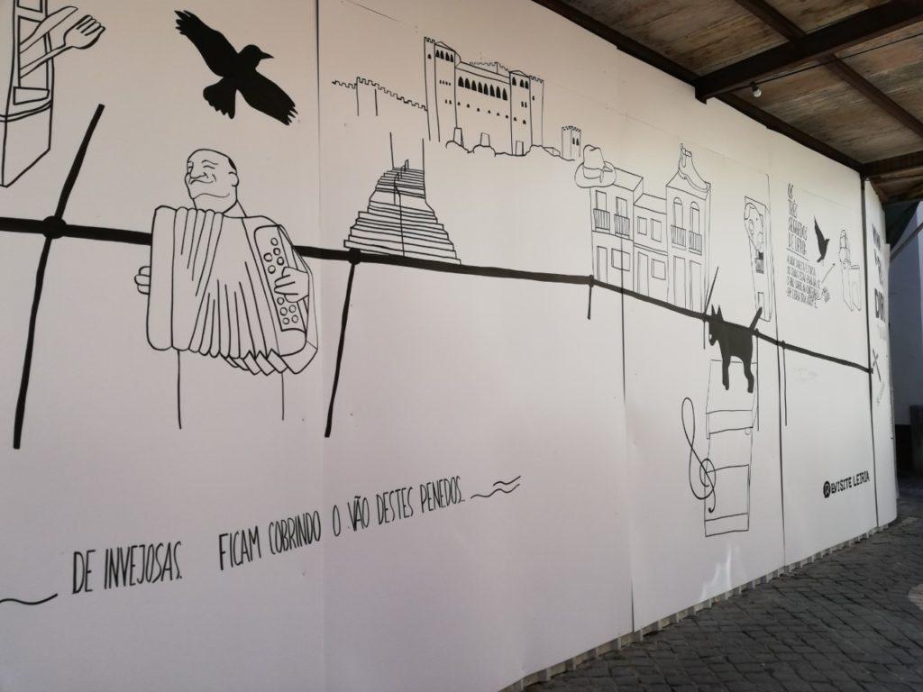 Mural Rua Direita Leiria