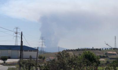 Incêndio em Porto de Mós 1