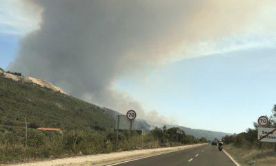 Incêndio em Porto de Mós