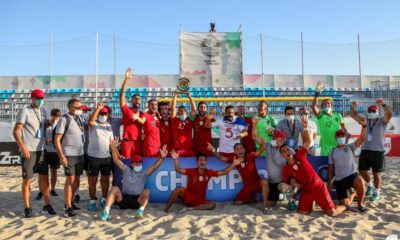 Portugal campeão Europeu Futebol Praia 2020