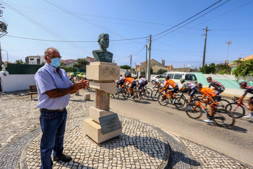 Estátua ciclista Joaquim Agostinho