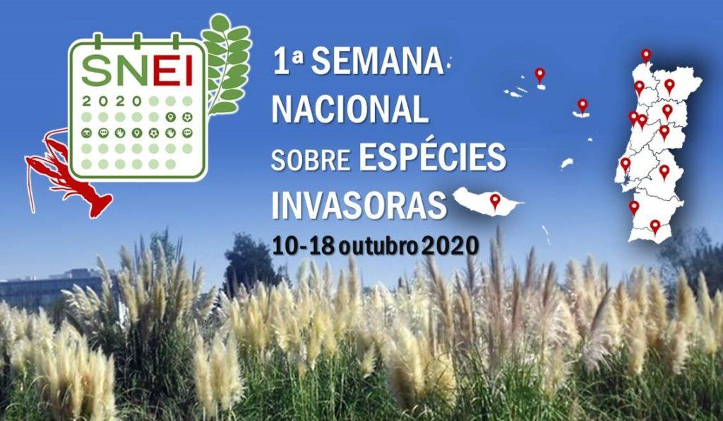 Cartaz Semana Nacional sobre Espécies Invasoras / Facebook