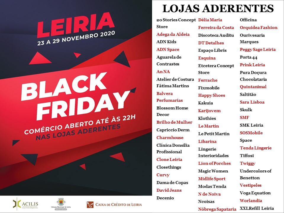 Black Friday Leiria 2020