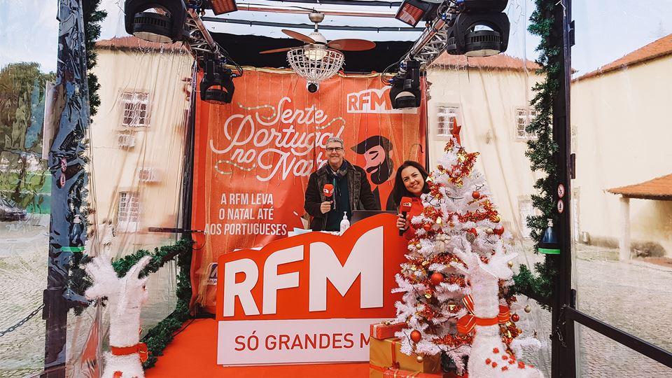 Camião RFM Sente o Natal