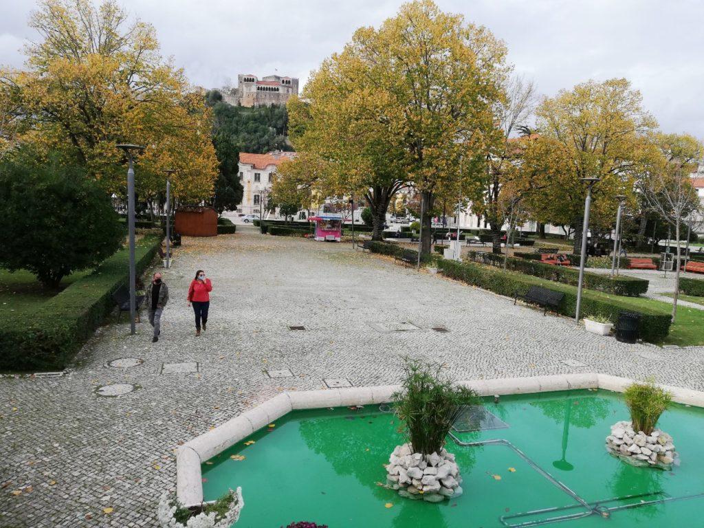Jardim e Castelo Leiria
