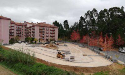 Obras Parque Estacionamento Telheiro