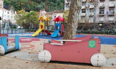 Parque Infantil Avião, Leiria