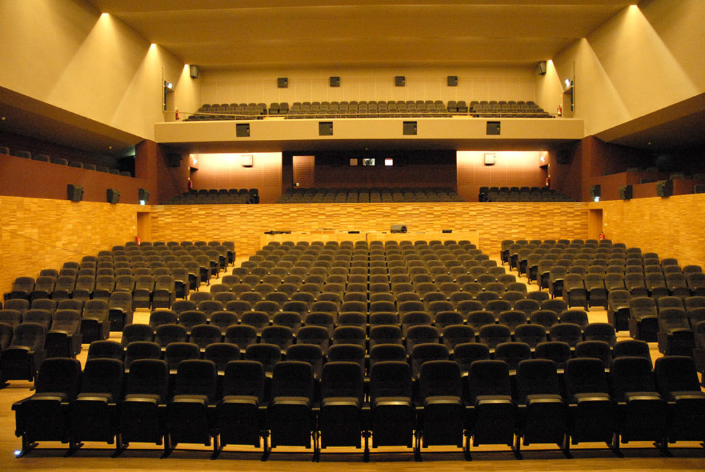 Teatro José Lúcio da Silva interior
