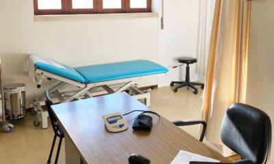 Gabinete médico da extensão de Saúde Reguengo do Fetal, na Batalha
