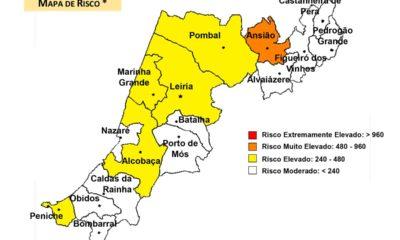 Mapa Risco covid-19